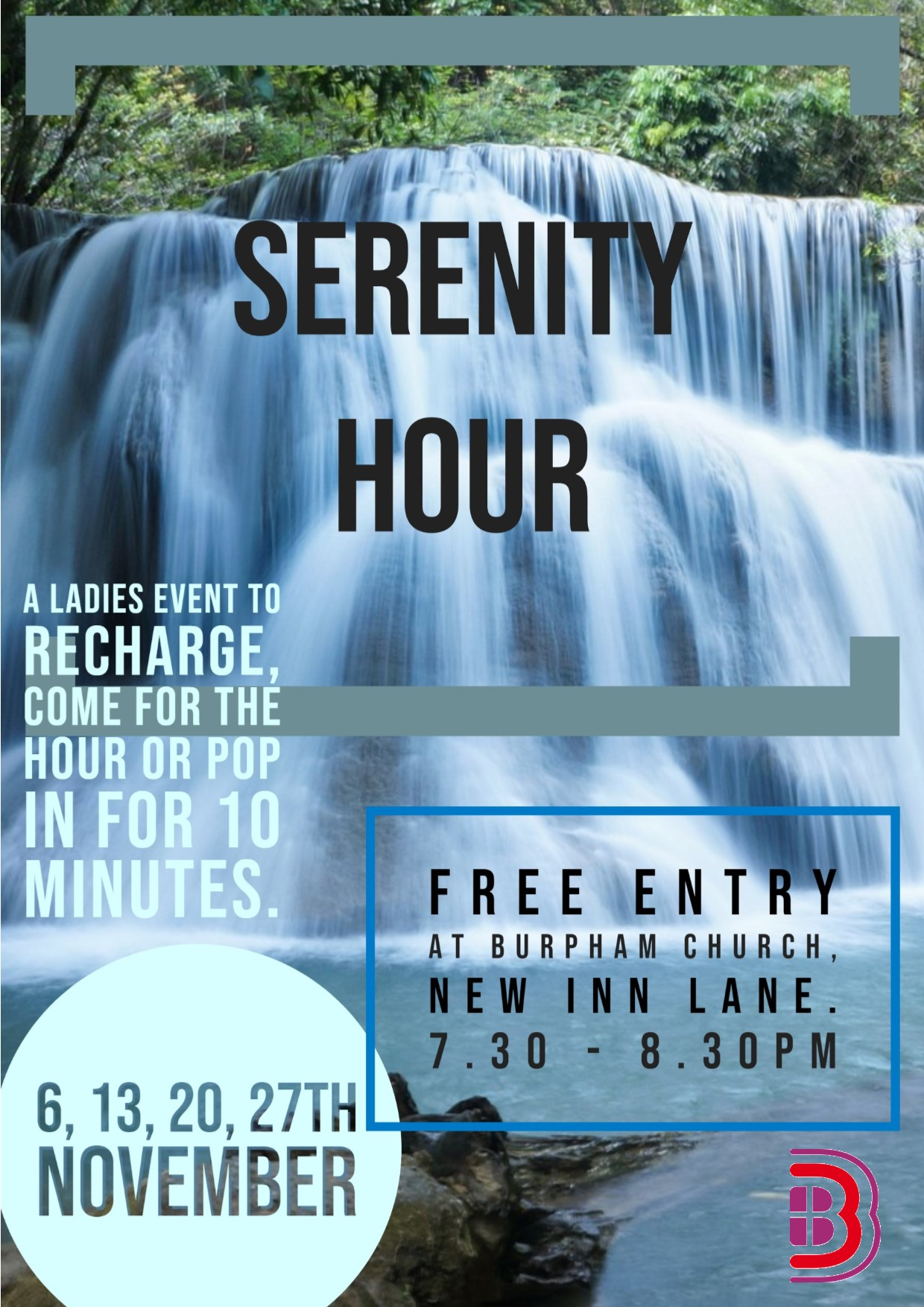 Serenity Hour Poster